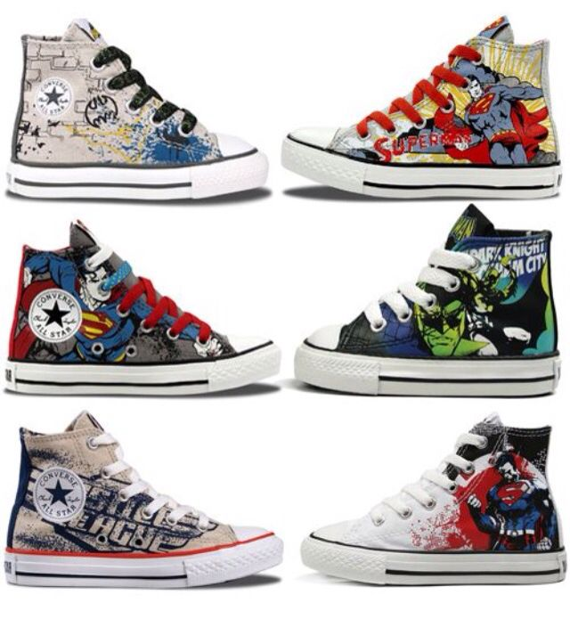Superhero Converse | Kid shoes, Baby boy fashion, Boys sho