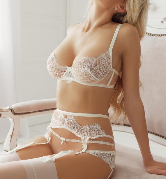 Wedding lingerie Bridal lingerie set Wedding night White | Et