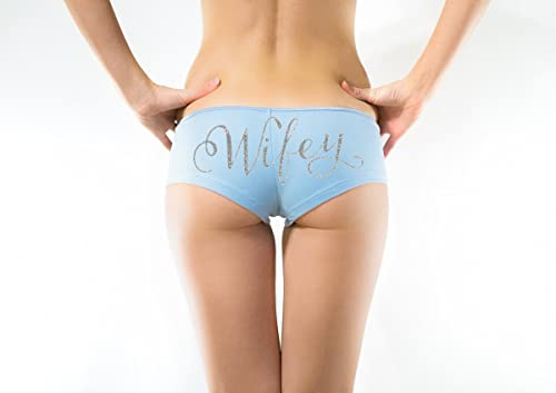 Amazon.com: Bridal Underwear Wifey Boyshorts, Shorties Wedding .