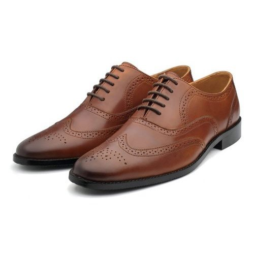 Formal Mens Leather Black Brogue Shoes, Size: 5-13 UK, Rs 900 .