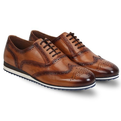 Men Leather Brogue Shoes, Rs 5999 /piece, The Vogue Global   ID .