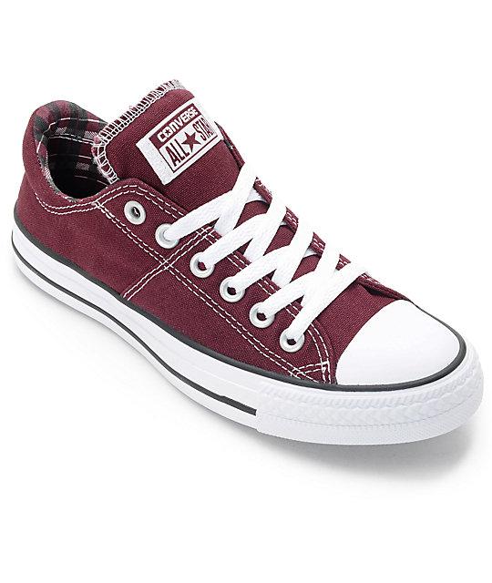Converse Chuck Taylor All Star Madison Deep Burgundy Shoes | Zumi