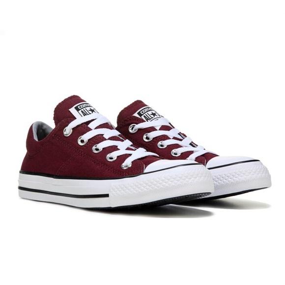 Converse Shoes | Burgundy | Poshma