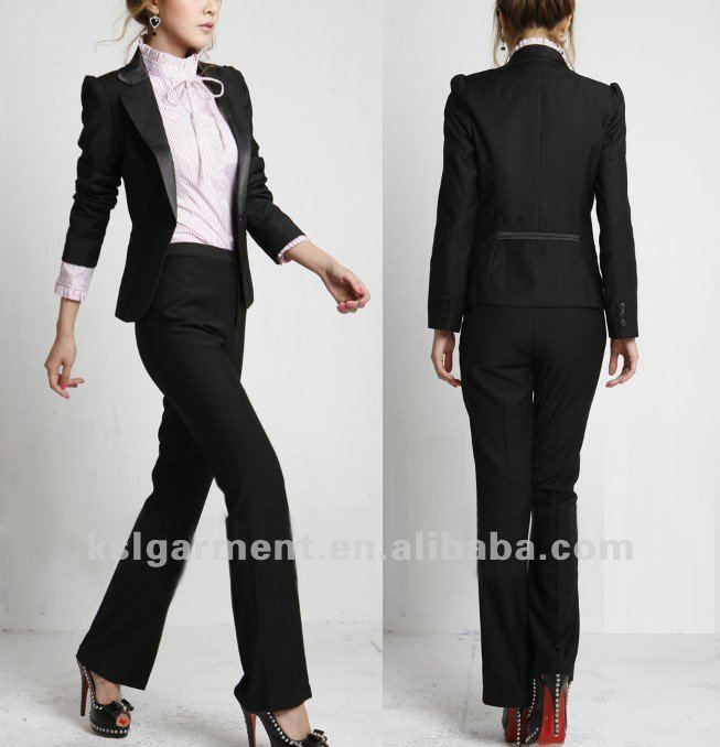 Reynelda McDonald McDonald women suits | women business pant suits .