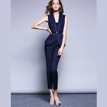 Wholesale Fashionable Business Suits Women Both Pocket Side .