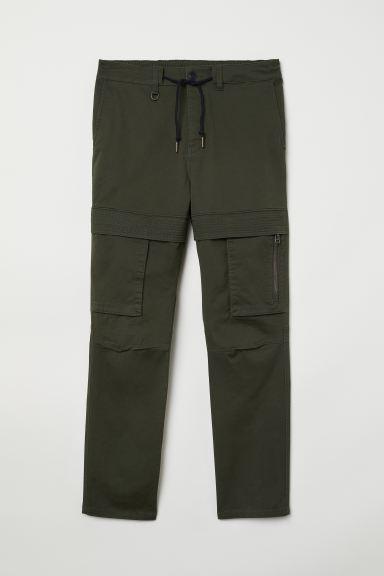Cargo Pants - Dark green - Men | H&M