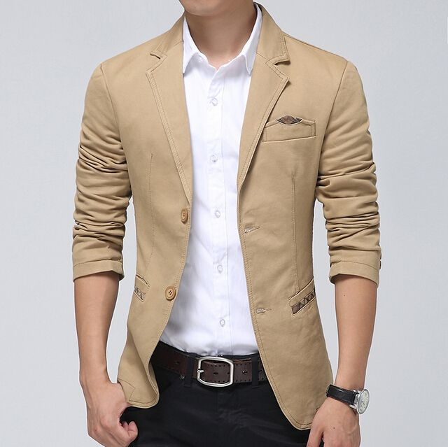 Choosing The Right Men's Leather Jackets | Blazers for men casual .