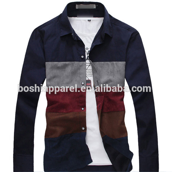 Custom Design Casual Shirts For Boys Of 3/4 Sleeve Shirt - Buy New .