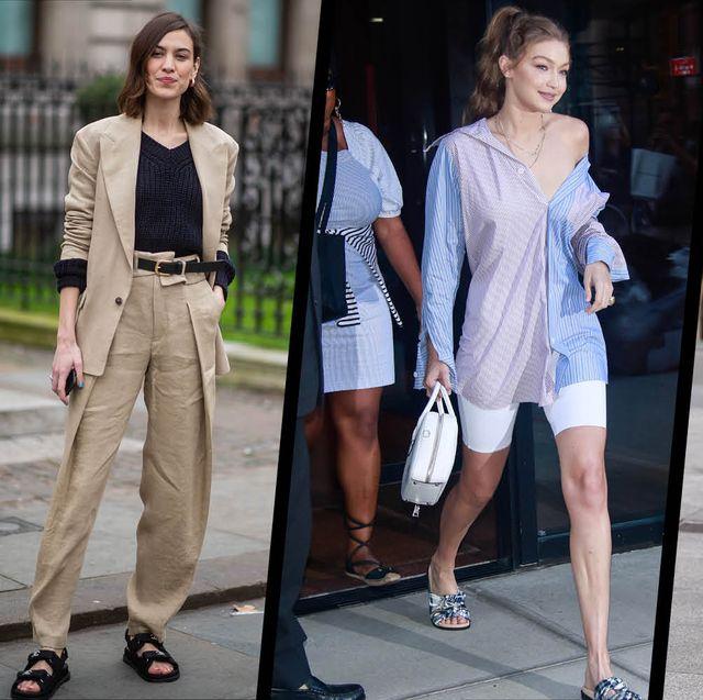 Celebrity summer street style – Summer dressing inspirati