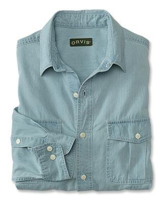 Faded Chambray Shirt - Orv