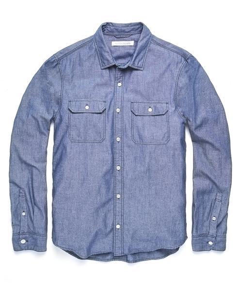 Walker Chambray Shirt | Men's Shirts | Outerkno