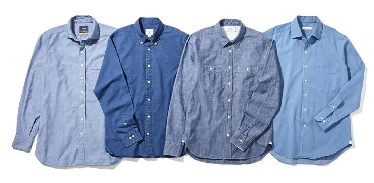 The Chambray Shirt: Why Every Man Needs This All-American Staple - W