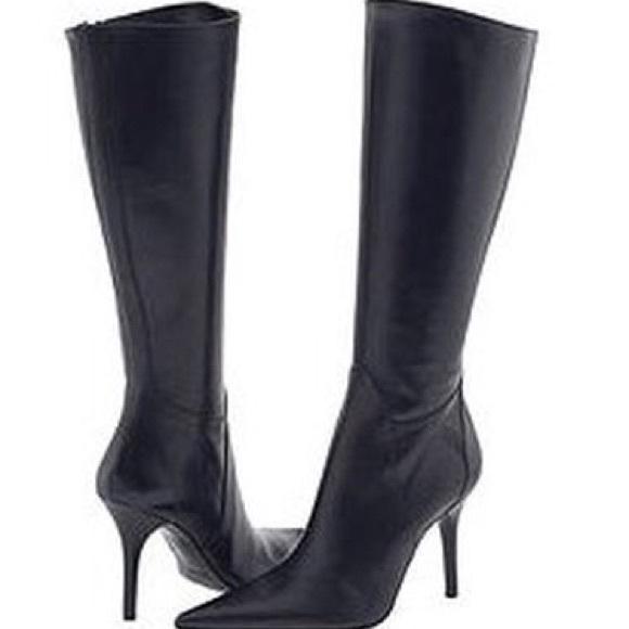 Charles David Shoes | Capture Kneehigh Stiletto Boot | Poshma