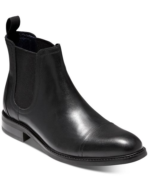 Cole Haan Conway Chelsea Waterproof Boots & Reviews - All Men's .