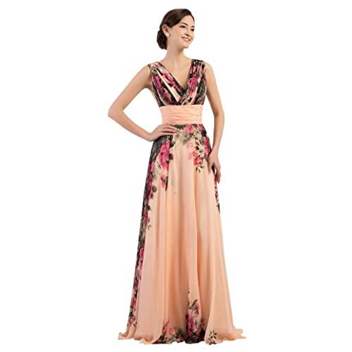 Chiffon Floral Dresses: Amazon.c