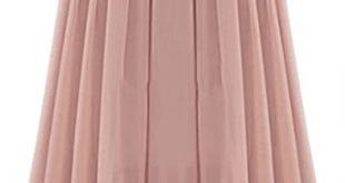 Tanming Women's Elegant High Waist Pleated Chiffon Skirt at Amazon .