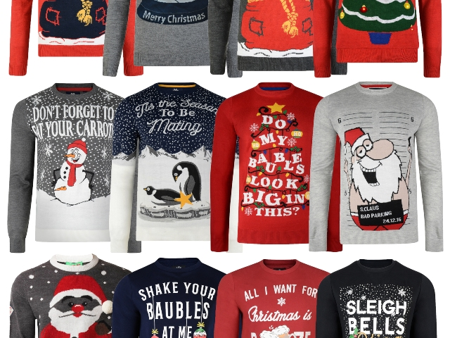 Walmart's 'Sex And Cocaine' Christmas Jumpers Are Quite A Sight .