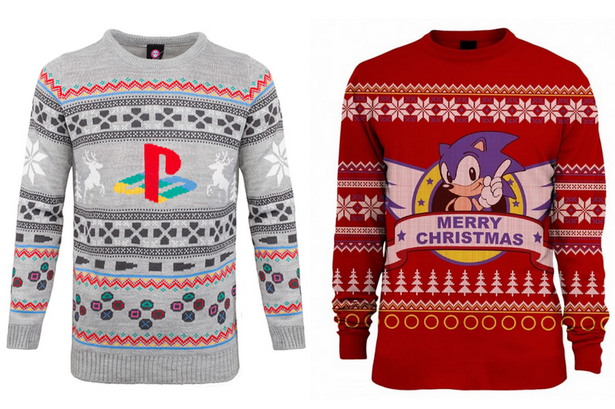 The best video game-themed Christmas jumpers, including Fallout .