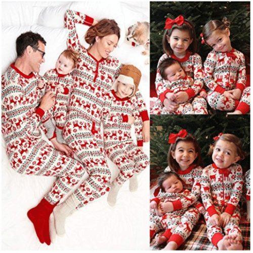 Family Christmas Pajamas Sets - A Thrifty Mom - Recipes, Crafts .