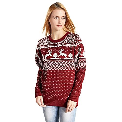 Women's Cute Christmas Sweater: Amazon.c