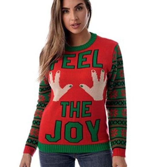 Sweaters   Womens Ugly Christmas Sweater Women   Poshma