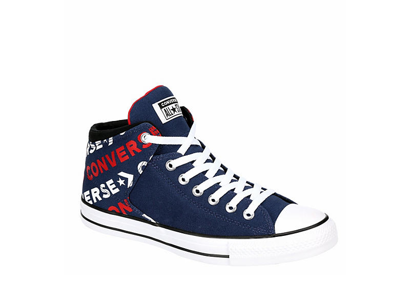 Navy Converse Mens Chuck Taylor All Star High Street High .