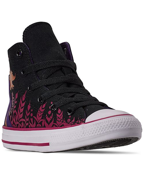 Converse Little Girls Converse Frozen 2 Chuck Taylor All Star Hi .