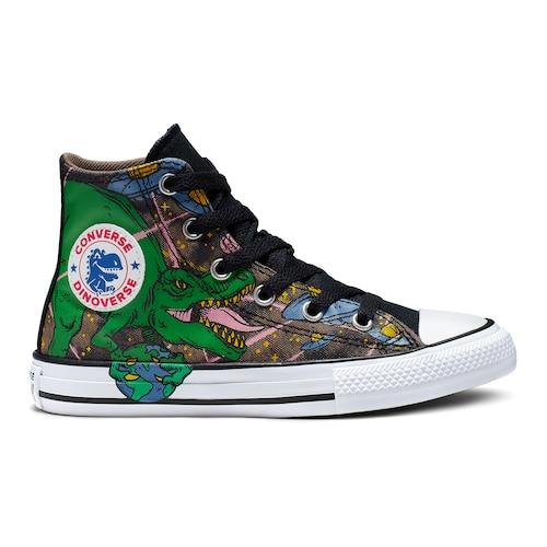 Boys' Converse Chuck Taylor All Star Interstellar Dinosaur High Top .