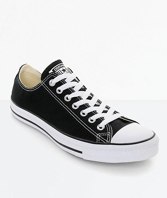 Converse Chuck Taylor All Star Black & White Shoes   Zumi