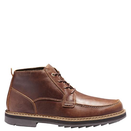 Men's Squall Canyon Waterproof Moc-Toe Chukka Boots | Timberland .
