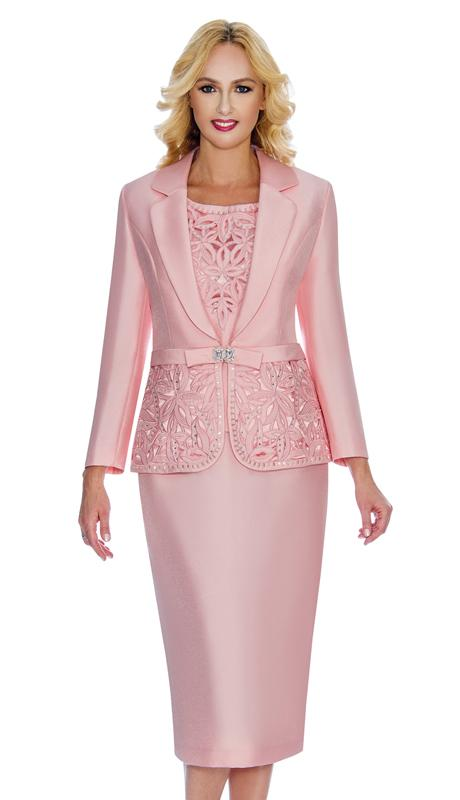 Giovanna Women Suit G1007-Pink   Suits for women, Womens dress .