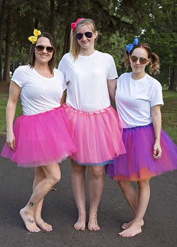 Adult Tutu Skirt (Tutus for Women) Red & Pink & 20+ Colors In Sto