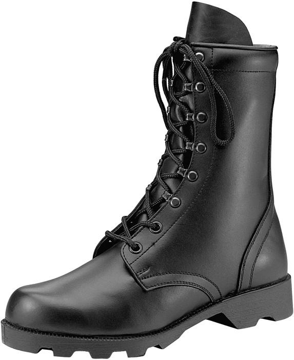 Black Leather Speedlace Military Combat Boo