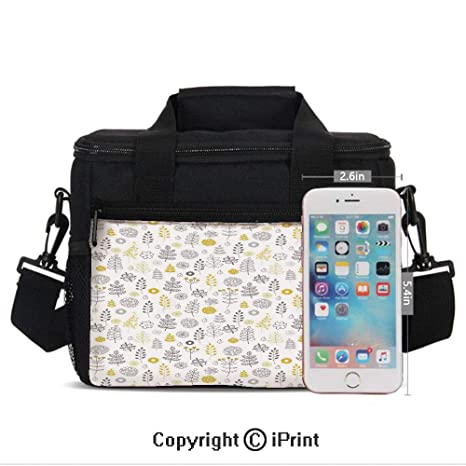 Amazon.com: Girls Women Casual Lunch Bags Nature Wild Forest .