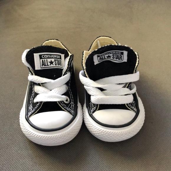 Converse Shoes | Black Baby | Poshma