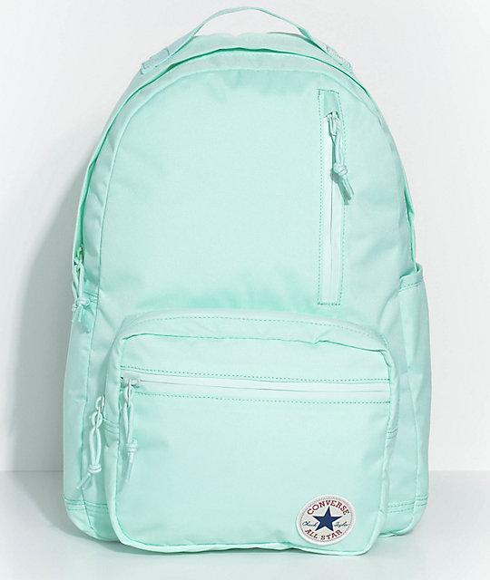Converse Go Pack Mint Foam Backpack | Zumi