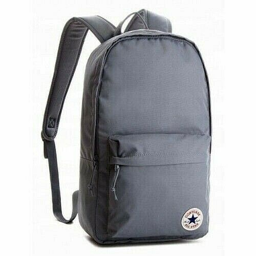 Converse Backpack CHUCK TAYLOR ALL STAR Gray Core School Laptop .