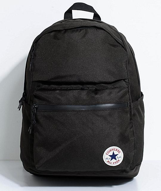 Converse Chuck Poly 1.0 Black Backpack | Zumi