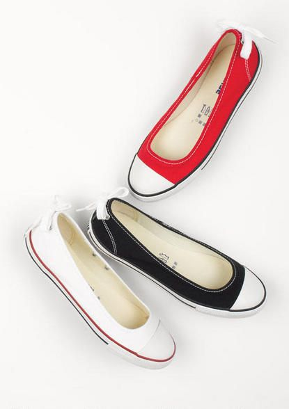 Converse Dainty Ballerina. These would probably be the ONLY flats .