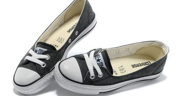2013 Summer Converse All Star Ballet Flats Ladies Sneakers Denim .