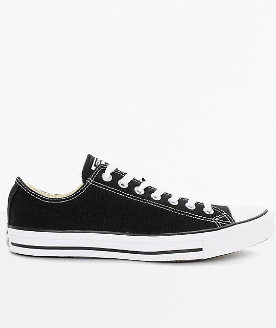 Converse Chuck Taylor All Star Black & White Shoes | Zumi