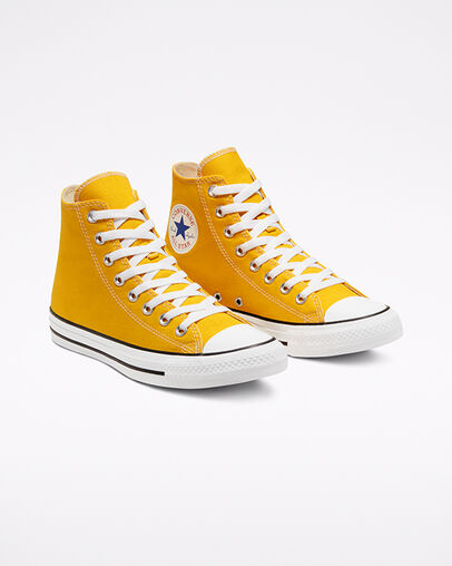 Yellow Converse Shoes: Low & High Top. Converse.c