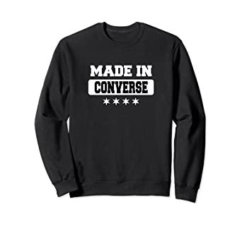 Amazon.com: Made In Converse Sweatshirt: Clothi