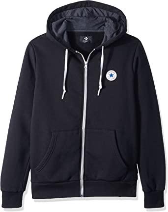 Amazon.com: Converse Men's Full Zip Hoodie: Clothi