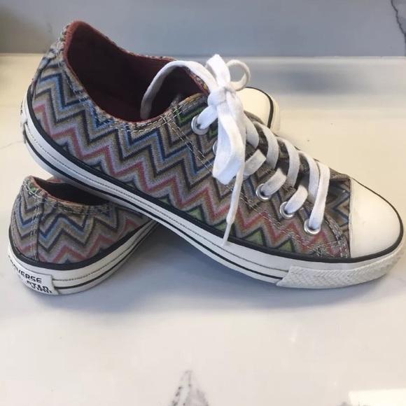 Converse Shoes | Missoni X Chuck Taylor All Star Sneakers | Poshma