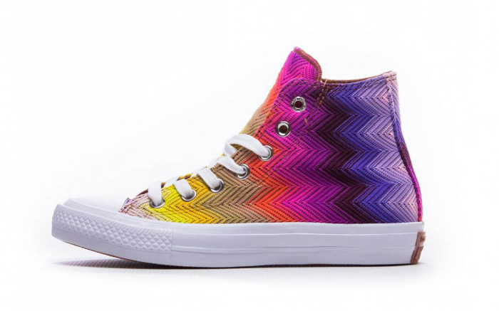 Missoni and Converse Give the Iconic Chuck Taylor a Vibrant .
