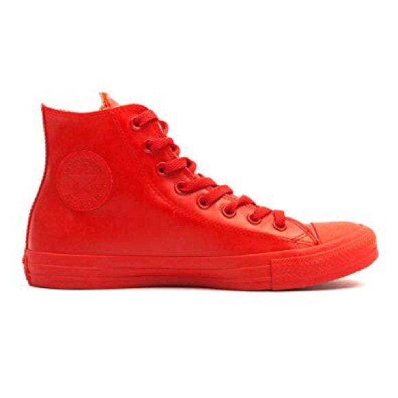 Converse Shoes | Chuck Taylor All Star Red Rubber | Poshma