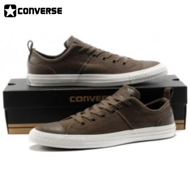 Converse Shoes For Men Leather Brown infinities1st.c