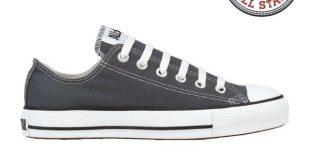 Mens Converse Shoes Chuck Taylor Ox Charcoal 1j794 Men 6 / Women 8 .