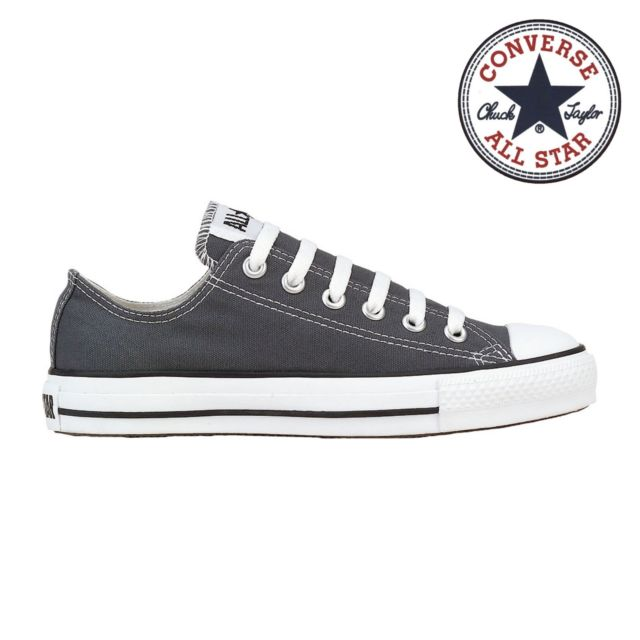 Mens Converse Shoes Chuck Taylor Ox Charcoal 1j794 Men 6 / Women 8 .
